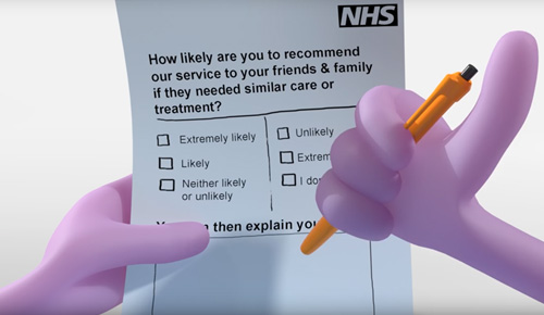 Put us to the test… the NHS Friends and Family Test