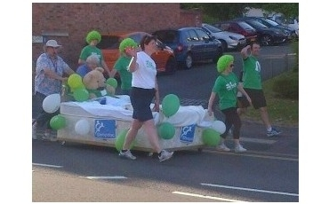 Shropdoc Staff on Bed Push